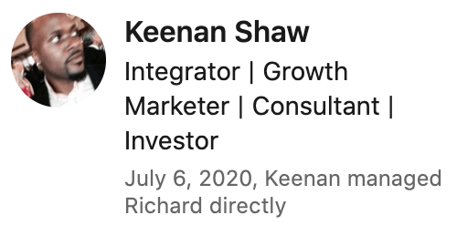 Keenan Shaw Review