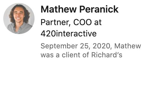 Mathew Peranick
