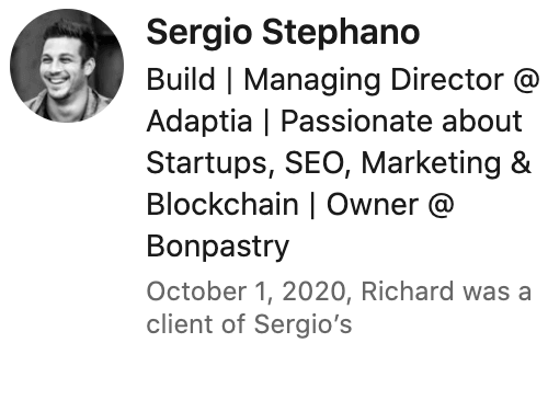 Sergio Review