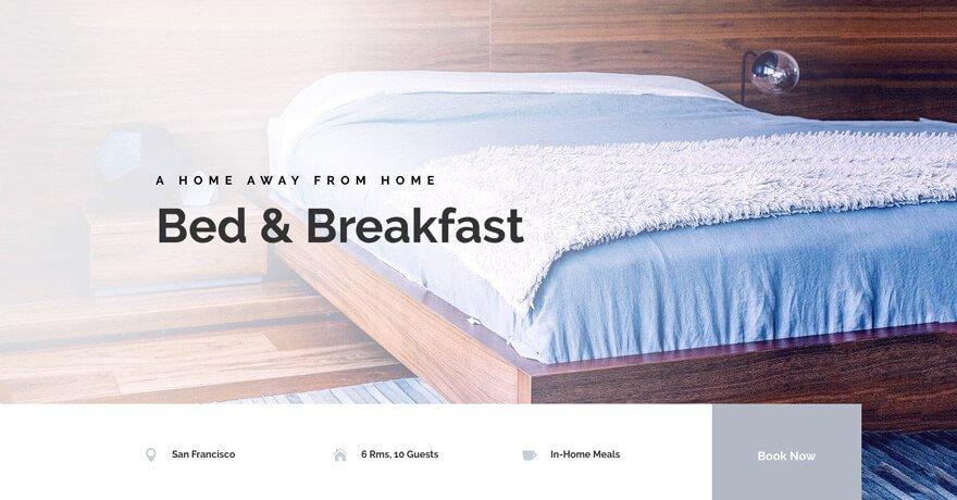 Bed and Breakfast Website