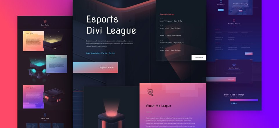 eSports Website