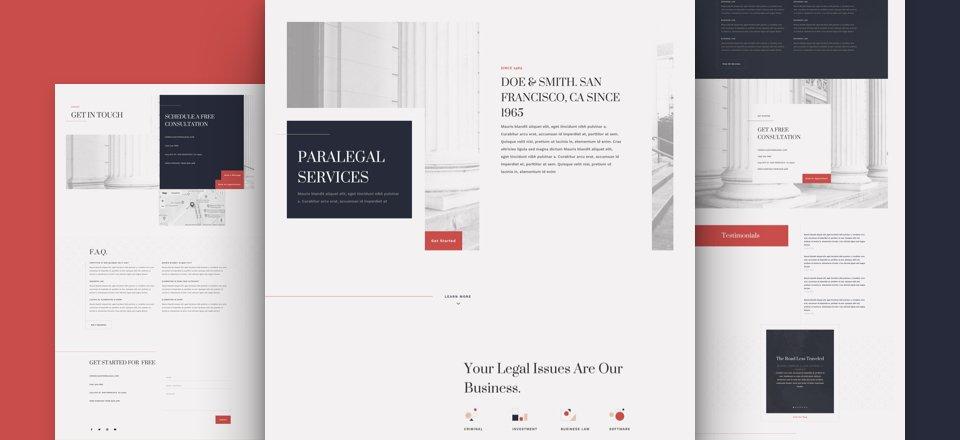 Paralegal Website